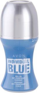 Avon Individual Blue for Him desodorizante roll-on para homens 50 ml