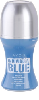 Avon Individual Blue for Him dezodorant roll-on pre mužov 50 ml
