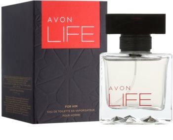 Avon Life For Him eau de toilette pour homme 75 ml