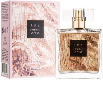 Avon Little Sequin Dress Eau de Parfum voor Vrouwen  50 ml