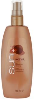 Avon Sun Maxi Tan λάδι για τόνωση του μαυρίσματος σε σπρέι