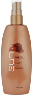 Avon Sun Self Tan óleo para realçar o bronzeado em spray