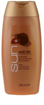 Avon Sun Self Tan lapte hidratant tonifiant cu beta-caroten