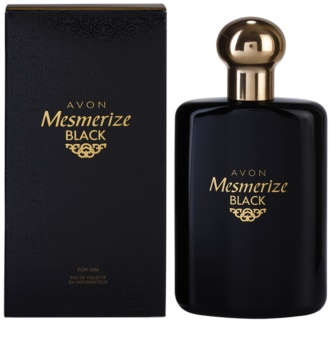 Avon Mesmerize Black for Him Eau de Toilette für Herren 100 ml