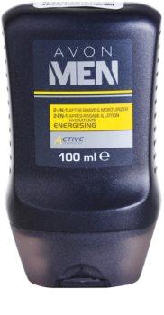 Avon Men Energizing hydratisierendes After Shave Balsam 2 in 1