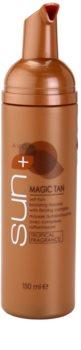 Avon Sun Magic Tan samoopalovací pěna na tělo se zpevňujícím komplexem