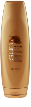 Avon Sun Magic Tan зволожуюче молочко для автозасмаги для обличчя та тіла