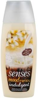 Avon Senses Mood Therapy Indulgent crema de ducha hidratante