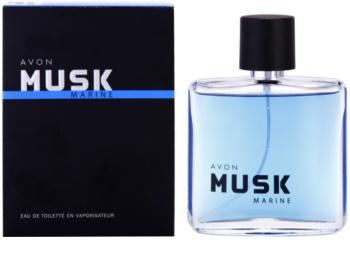 Avon Musk Marine Eau de Toilette para homens 75 ml
