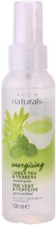 Avon Naturals Body tělový sprej se zeleným čajem a verbenou