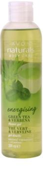 Avon Naturals Body osvežilni gel za prhanje z zelenim čajem in verbeno