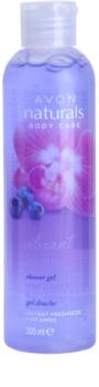 Avon Naturals Body gel de duche com orquídea e mirtilo