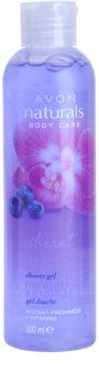 Avon Naturals Body gel de dus cu orhidee si afine