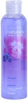 Avon Naturals Body Shower Gel With Orchids And Blueberries