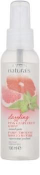 Avon Naturals Fragrance spray corporal com toranja e menta