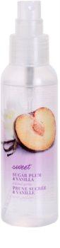 Avon Naturals Fragrance telový sprej so slivkou a vanilkou