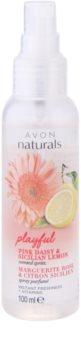 Avon Naturals Fragrance tělový sprej se sedmikráskou a citronem