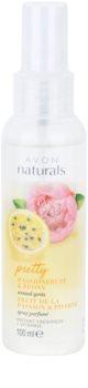 Avon Naturals Fragrance spray corporel au fruit de la passion et pivoine