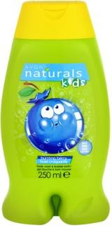 Avon Naturals Kids espuma de baño y gel de ducha 2 en 1 para niños