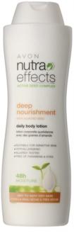 Avon Nutra Effects Nourish hydratační tělové mléko pro suchou až velmi suchou pokožku