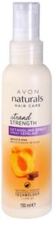 Avon Naturals Hair Care hajspray a könnyű kifésülésért