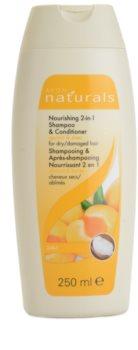 Avon Naturals Hair Care shampoing nourrissant et après-shampoing pour cheveux secs et abîmés