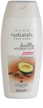 Avon Naturals Hair Care regenerační šampon pro suché a poškozené vlasy