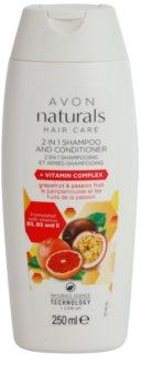 Avon Naturals Hair Care Shampoo und Conditioner 2 in 1