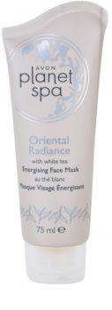 Avon Planet Spa Oriental Radiance stimulirajuća maska za lice Peel-off s bijelim čajem