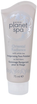 Avon Planet Spa Oriental Radiance osvěžující pleťový peeling s bílým čajem