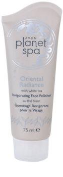 Avon Planet Spa Oriental Radiance osviežujúci pleťový peeling s bielym čajom