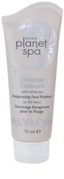 Avon Planet Spa Oriental Radiance osvježavajući piling za lice s bijelim čajem