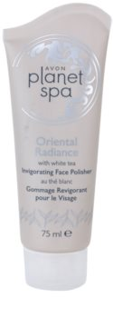Avon Planet Spa Oriental Radiance peeling corporal com efeito refrescante com chá branco