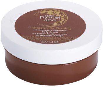 Avon Planet Spa Fantastically Firming feszesítő testkrém kávé kivonattal