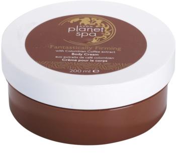 Avon Planet Spa Fantastically Firming krema učvršćivanje tijela s ekstraktima kave