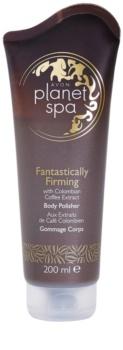 Avon Planet Spa Fantastically Firming spevňujúci telový peeling s výťažkami z kávy