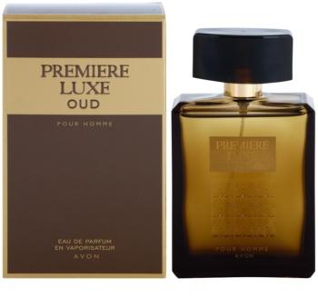 Avon Premiere Luxe Oud eau de parfum férfiaknak 75 ml