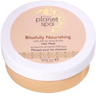 Avon Planet Spa African Shea Butter máscara para todos os tipos de cabelos
