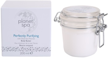 Avon Planet Spa Perfectly Purifying crema corporal con minerales del Mar Muerto