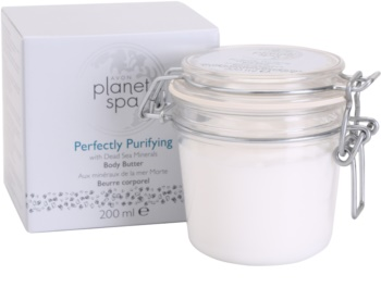 Avon Planet Spa Perfectly Purifying Bodycrème  met Mineralen uit Dode Zee