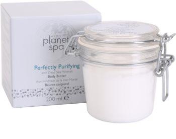 Avon Planet Spa Perfectly Purifying Körpercreme mit Mineralien aus dem Toten Meer