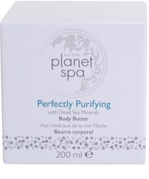 Avon Planet Spa Perfectly Purifying creme corporal com minerais do Mar Morto