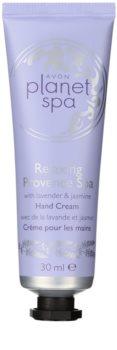 Avon Planet Spa Provence Lavender crema hidratante para manos con lavanda
