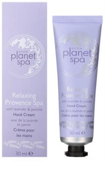 Avon Planet Spa Provence Lavender vlažilna krema za roke s sivko