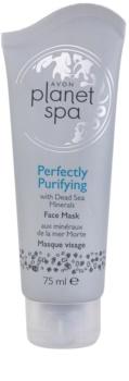 Avon Planet Spa Perfectly Purifying mascarilla limpiadora con minerales del Mar Muerto