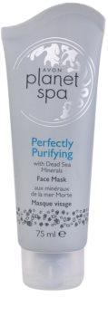 Avon Planet Spa Perfectly Purifying очищаюча маска з мінералами Мертвого моря
