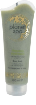 Avon Planet Spa Heavenly Hydration exfoliante corporal hidratante con aceite de oliva