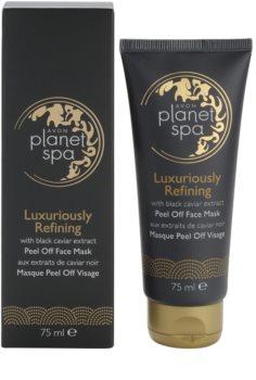 Avon Planet Spa Luxury Spa luksuzna peel-off maska za regeneraciju lica s ekstraktima crnog kavijara