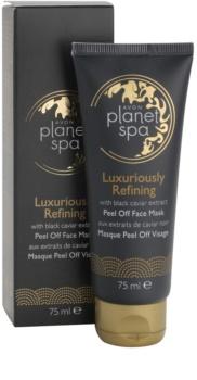 Avon Planet Spa Luxury Spa luxusní obnovující slupovací pleťová maska s výtažky z černého kaviáru