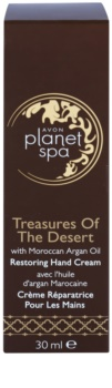 Avon Planet Spa Treasures Of The Desert creme de mãos com óleo de argan